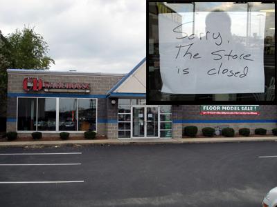 RIP CD Warehouse