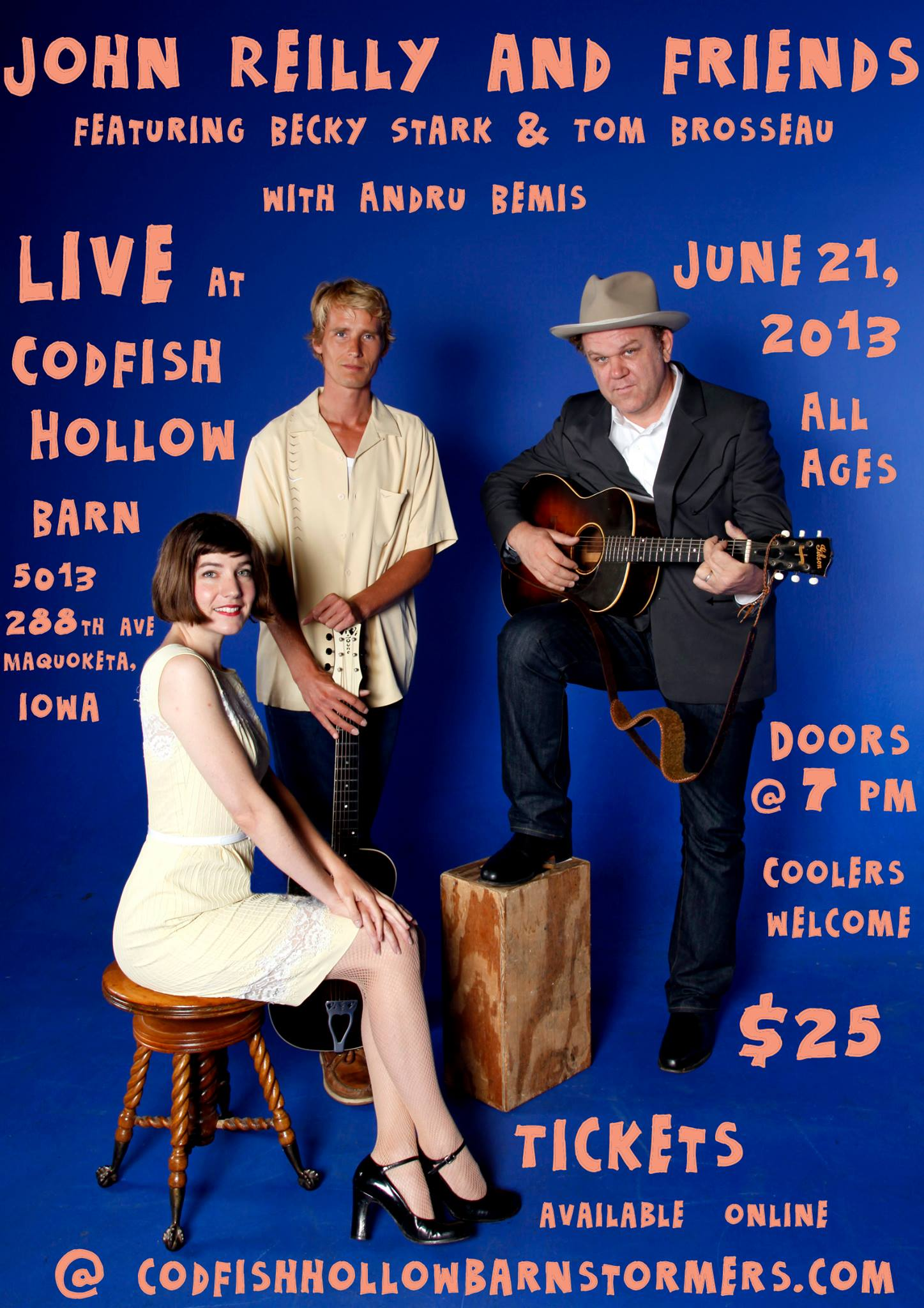 John Reilly and Friends at Codfish Hollow Barn Poster