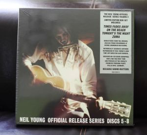 Neil Young Official Release Series 5-8 1